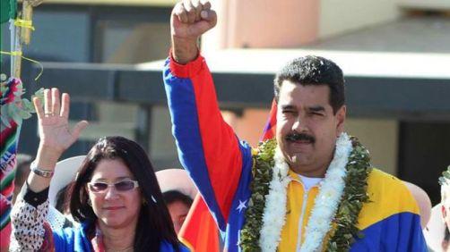 Nicolas Maduro wife Cilia Flores
