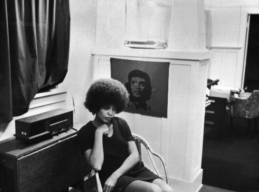 American activist Angela Davis, shortly after she was fired from her post as philosophy professor at UCLA due to her membership of the Communist Party of America, 27th November 1969. (Photo by Lucas Mendes/Archive Photos/Getty Images)