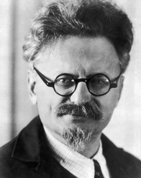 Headshot of Russian Revolutionary political leader and author Leon Trotsky (1879 - 1940), 1930s. (Photo by Hulton Archive/Getty Images)