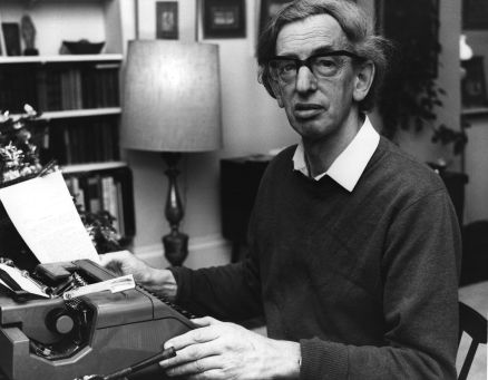 January 1976: The British historian Eric Hobsbawm. (Photo by Wesley/Keystone/Getty Images)