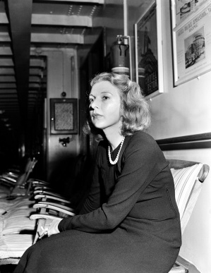 Writer and correspondent Martha Gellhorn is shown in this undated photo. (AP Photo)